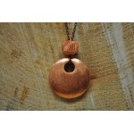 Long Cooper Pendant Cooper necklace